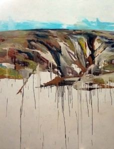 Robert Habel, Palmer Landscape 3, 2011, oil on canvas, 140 x 127cm. Image courtesy of the artist.