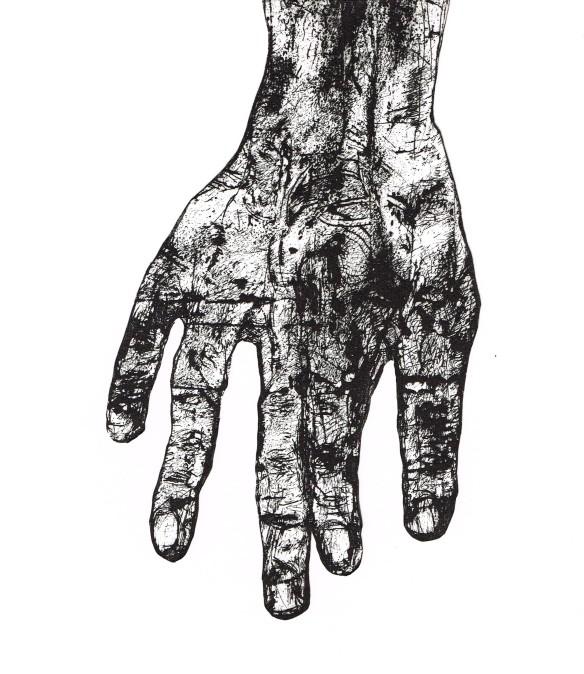 Inked, Lorelei Medcalf, etching